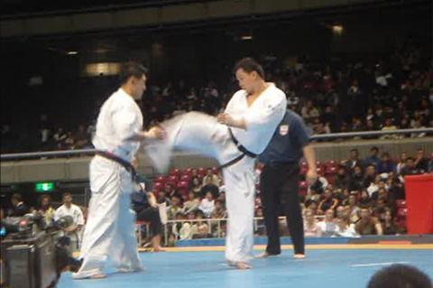 normal_sempai augustianto tjajadi mengikuti the 9th world open karate tournament